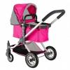 товар для детей Кукольная коляска RT  646 Фуксия-Серый