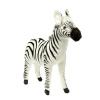 Игрушка мягкая Hansa Зебра, 41 см, белая / черная, купить за 3 210руб.