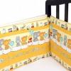 """Товар для детей Бортики в кроватку Idea Kids """"Игрушки"""" Бежевые, купить за 1 700руб."""