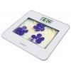 Напольные весы Scarlett SC-BS33E002, фиолетовые цветы, купить за 1 080руб.