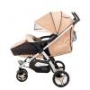 Коляска Liko Baby BT-1218B, бежевая, купить за 10 150руб.