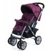 коляска Liko Baby AU-258, фиолетовая