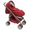 Коляска BabyLux Carita 205S (8 колес) красная, купить за 7 050руб.