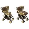 Коляска BabyLux Carita 205S (8 колес) коричневая, купить за 7 050руб.