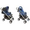 Коляска BabyLux Carita 205S (8 колес) голубой, купить за 7 050руб.