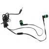 Гарнитура для телефона Defender Pulse-420, черно-зеленая, купить за 340руб.