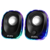 Sven 330 2.0, черная 5Вт портативная, купить за 795руб.