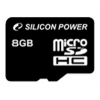 Карта памяти MicroSDHC 8Gb class10 Silicon Power, купить за 435 руб.