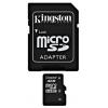 Kingston SDC4/4GB MicroSDHC 4Gb, Class4, SD-адаптер, купить за 410руб.