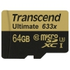 Transcend MicroSDXC 64Gb class10  UHS-1, купить за 3 905руб.