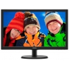 "Philips 223V5LSB/00(01), чёрный (21.5"", 1920x1080, 5 ms, 170°/160°, 250 cd/m, 1000:1, 10M:1, DVI-D, D-Sub, HDCP), купить за 5 340 руб."