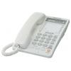 Проводной телефон Panasonic KX-TS2365RUW, белый, купить за 2 370руб.