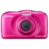 Цифровой фотоаппарат Nikon Coolpix W100, розовый, купить за 9 195руб.