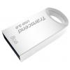 Usb-флешку 8 Gb, Transcend JetFlash 710S (Silver) USB 3.0 R/W 90/6 MB/s, купить за 975руб.