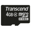 Transcend TS4GUSDC4 (4 Gb, no adapter), купить за 645 руб.