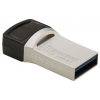 Transcend JetFlash 890S 16 GB, серебристая, купить за 985руб.