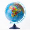 товар для детей глобус Globen Евро 320 мм, политический, рельефный с подсветкой