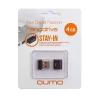Usb-флешка Qumo Nanodrive USB2.0 4Gb (RTL), Black, купить за 700руб.