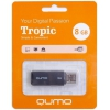 Qumo Tropic USB2.0 8Gb (RTL), Black, купить за 385 руб.
