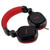 Наушники Dialog HP-A35, черно-красные, купить за 1 285руб.