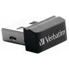 Usb-флешка Verbatim Store 'n' Stay Nano 8GB, черная, купить за 605руб.