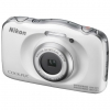 Цифровой фотоаппарат Nikon Coolpix W100, белый, купить за 9 195руб.