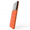 Сотовый телефон Elari CardPhone, оранжевый, купить за 3 885руб.