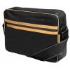 "Сумка для ноутбука Continent CC-065 Black Gold иск. кожа, 15""(осн.отд.38x26x4 см), купить за 1 200руб."