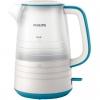 Электрочайник Philips HD9334/11, белый/голубой, купить за 2 370руб.