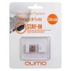 Usb-������ Qumo Nanodrive USB2.0 16Gb (RTL), White, ������ �� 480���.