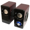 Компьютерная акустика Dialog AST-25UP, вишневая, купить за 1 025руб.