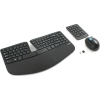 Комплект Microsoft мышь+клавиатура Wireless Microsoft Sculpt Ergonomic Desktop черный, купить за 6640 руб.