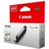 Картридж Canon CLI-471GY Серый, купить за 1 215руб.