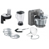Кухонный комбайн Bosch MUM XX40G, серебристый, купить за 67 530руб.