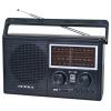 Радиоприемник Supra ST-126, черный, купить за 2 700руб.
