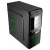 Корпус Aerocool V3X Advance Green Edition, ATX, 800Вт, USB 3.0, купить за 5 505руб.