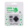 Qumo Fundroid MicroSDHC Memory Card 32Gb Class10 + USB microSD Reader, чёрный, купить за 1 380руб.