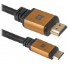 Кабель Defender HDMI-miniHDMI (87441), 1.8м, купить за 625руб.
