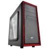 Корпус Deepcool Tesseract SW Red (ATX, без БП), купить за 2 670руб.