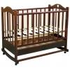 Детскую кроватку Ведрусс Лана-2 ( качалка),  вишня, купить за 4840руб.