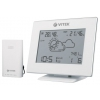 Метеостанция Vitek VT-6407 W, белая, купить за 2 760руб.