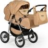 Коляска Indigo Maximo, Ma 03 светло-коричневая + светло-бежевая, купить за 11 599руб.