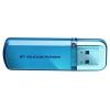 Usb-флешка Silicon Power Helios 101 32GB USB 2.0, голубая, купить за 655руб.