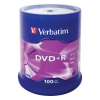 Verbatim DVD+R 4.7ГБ 16x  (100шт., на шпинделе), купить за 1 465руб.