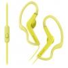 Гарнитура для телефона Sony MDR-AS210AP, желтая, купить за 1 595руб.