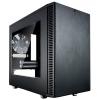 Корпус компьютерный Fractal Design Define Nano S, Black FD-CA-DEF-NANO-S-BK-W с окном, купить за 5960руб.