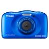Цифровой фотоаппарат Nikon Coolpix W100, синий, купить за 9 195руб.