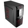 Корпус Aerocool V3X Advance Devil Red Edition, ATX, 500Вт, USB 3.0, купить за 4 050руб.