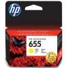 Картридж для принтера HP №655 HP-CZ112AE Yellow, купить за 1290руб.
