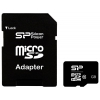 Silicon Power micro SDHC Card 16GB Class 10 + SD adapter, купить за 580 руб.